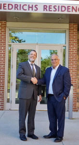 L to R: Dr. David Gentner, Wartburg's President & CEO and Robert Ranieri, managing director at NorthMarq.