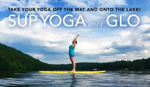 Try Standup Paddleboard (SUP) Yoga with Gloria Owens