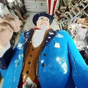 Uncle Sam after restoration