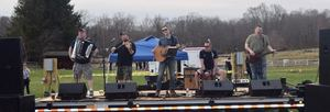 Shilelagh Law performs at Beerfest 2019 held at Tilly Foster Farm in Brewster, NY in May of 2019