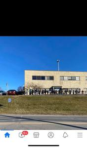 Line at Brewster DMV stretches around the back of the building on January 9, 2020