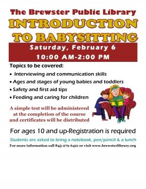 babysitting course free