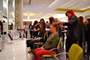 Adam broderick in southbury unveils innovative stylebar for Adam broderick salon southbury ct