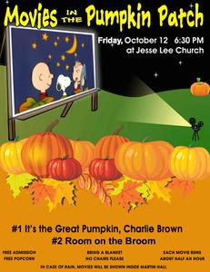 movies in the ridgefield pumpkin patch begin tonight