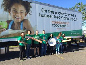 Ct Food Bank Mobile Pantry In Ridgefield Today