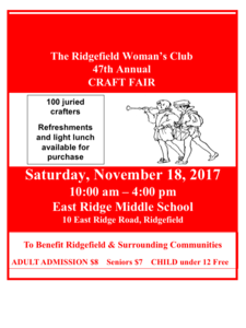 Ridgefield Woman S Club Craft Fair