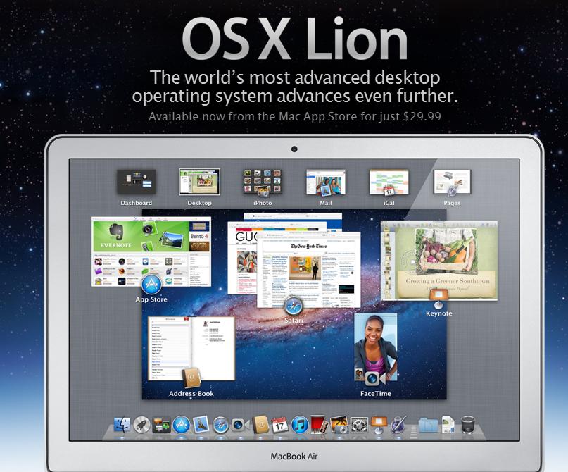OS-X Lion Promo Image