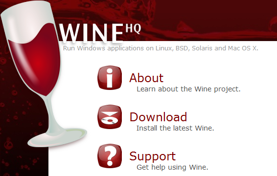 WineHQ Website Banner
