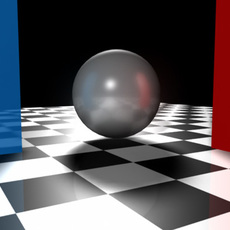 more blurred reflections for Maya 1.0