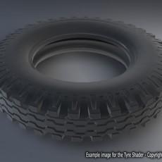 Tire Shader for Maya 1.0