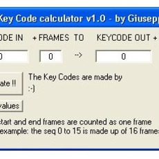 Film Key Code Calculator 1.0.0