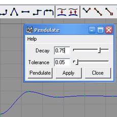 abxPendulate for Maya 1.5.0 (maya script)