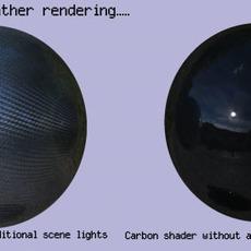 Carbon Fibre Shader for Maya 2.0.0