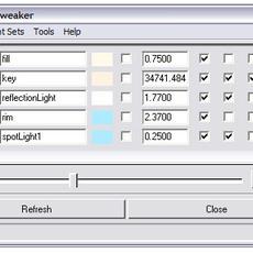 abLightTweaker for Maya 1.4.0 (maya script)