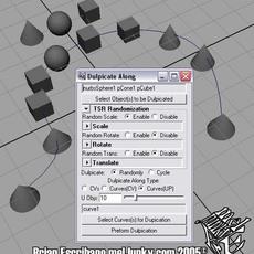 Duplicate Along for Maya 3.0.0 (maya script)