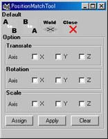 Position Match for Maya 2.0.1 (maya script)