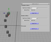 soft constraint (bi-directional) for Maya 1.2.0 (maya script)