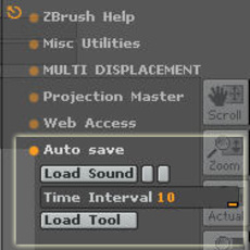AutoSave-ver.0 for Zbrush 2.0.0