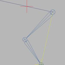 getPoleVector - zero rotation on IK joints for Maya 1.0.0 (maya script)