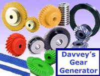 Davveys Gear Generator for Maya 1.0.3 (maya script)