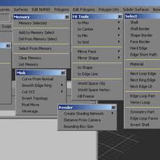 fPolyTools for Maya 3.5.0 (maya script)