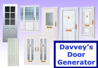 Davveys Door Generator for Maya 1.1.1 (maya script)