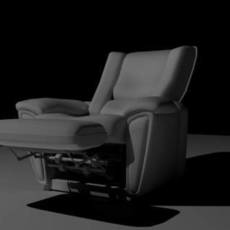 Recliner with animation controls for Maya 1.1.0