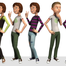 The Andy Rig for Maya 1.4.6