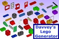 Davveys Lego Generator for Maya 1.1.0 (maya script)