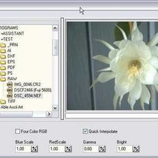 Able RAWer (free raw file editor and converter) 1.1.0