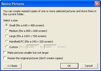 Free Right Click Image Resize for Windows XP 1.0.0