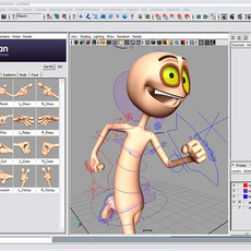 PoseMAN (Pose manager) for Maya 1.3.5 (maya script)