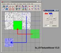 ks_UVTextureMover for Maya 1.0.0 (maya plugin)