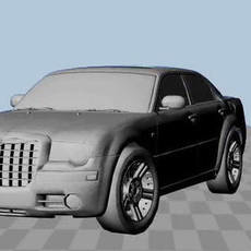 Modified Chrysler300 Rig for Maya 1.0.0