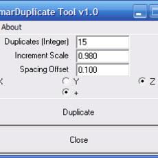 SmarDuplicate for Maya 1.0.0 (maya script)