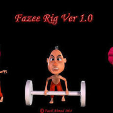 Fazee_Rig for Maya 1.0.0