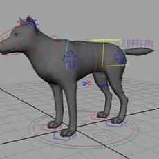 real dog for Maya 1.0.0
