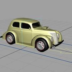 CUBAN CAR for Maya 1.0.0