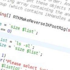 Kate / KWrite / KDevelop MEL Syntax Highlighting 1.1.0