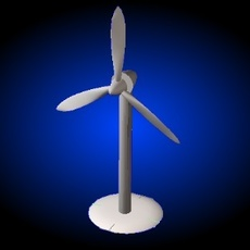 A Wind Generator 3D Model