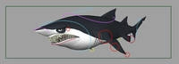 Shark rig for Maya 1.0.0
