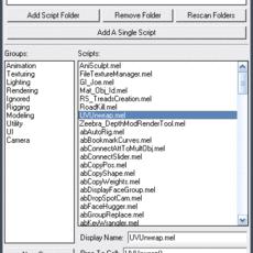 abScriptMenu for Maya 1.6.0 (maya script)