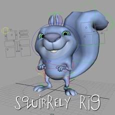 Squirrely Rig for Maya 1.1.0