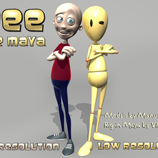 New Dee Rig for Maya for Maya 1.2.0