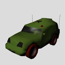 Vehicle rig by jyothee, vrush for Maya 0.0.2