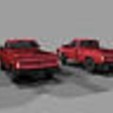 Chevy Truck Set 3D Model