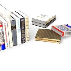 the books 3D Model