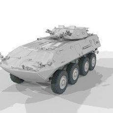 Pirana Cannon Untex 3D Model