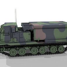 MLRS 3D Model