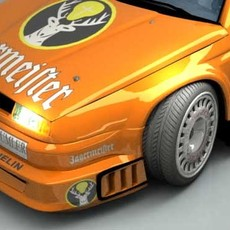 Alfa Romeo V6 3D Model
